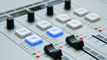 Image of an Audio Mixer